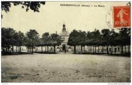 51. Hermonville- -La Mairie-1907 - Frankreich