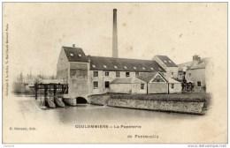 77-COULOMMIERS- Carte Précurseur-La Papeterie De Pontmoulin- Edit.DESSAINT- Le DELEY - Coulommiers