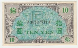 JAPAN 10 YEN 1945 VF++ Pick 71 - Japan