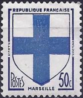 France 1958 - Coat Of Arms Of Marseille ( Mi 1217 - YT 1180 )  MNH** - Frankrijk