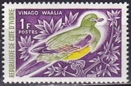 Costa D'Avorio, 1965/66 - 1f  Bruce's Green Pigeon, - Nr.231 MNH** - Costa D'Avorio (1960-...)