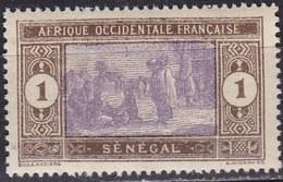 Senegal, 1914/33 - 1c Senegalese Preparing Food - Nr.79 MNH** - Senegal (1960-...)