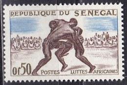 Senegal, 1961 - 50c  Wrestling - Nr.202 MNH** - Senegal (1960-...)