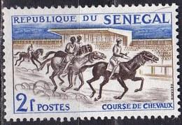 Senegal, 1961 - 2f  Horse Race - Nr.204 MNH** - Senegal (1960-...)