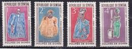 Senegal, 1966 - Dolls Of Gorée - Nr.261/264 MNH** - Senegal (1960-...)