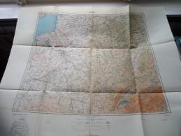 PARIS Anno 1944 - Schaal / Echelle / Scale 1: 1.000.000 ( Detail : Zie Foto´s ) ! - Cartes