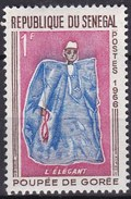 Senegal, 1966 - 1f Elegant Man - Nr.261 MNH** - Senegal (1960-...)