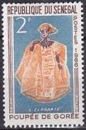 Senegal, 1966 - 1f Elegant Woman - Nr.262 MNH** - Senegal (1960-...)