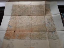 VIENNE / WIEN / WENEN Anno 1944 - Schaal / Echelle / Scale 1: 1.000.000 ( Detail : Zie Foto´s ) ! - Maps