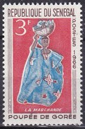 Senegal, 1966 - 3f Woman Peddling Fruit - Nr.263 MNH** - Senegal (1960-...)