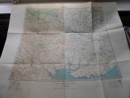 ODESSA Anno 1943 - Schaal / Echelle / Scale 1: 1.000.000 ( Detail : Zie Foto´s ) ! - Maps