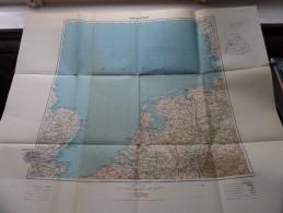 AMSTERDAM Anno 1944 - Schaal / Echelle / Scale 1: 1.000.000 ( Detail : Zie Foto´s ) ! - Cartes