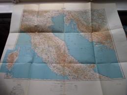 ROME / ROMA ( Roman Empire ) Anno 1944 - Schaal / Echelle / Scale 1: 1.000.000 ( Detail : Zie Foto´s ) ! - Maps