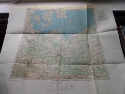 BERLIN / BERLIJN Anno 1944 - Schaal / Echelle / Scale 1: 1.000.000 ( Detail : Zie Foto´s ) ! - Maps
