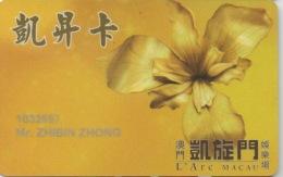 Carte Membership Casino : L'Arc Macau Macao - Casino Cards