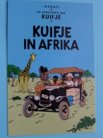 KUIFJE In AFRIKA - TINTIN Au CONGO (Hergé 070) De Avonturen Van Kuifje / Anno 2001 ( 2 Stuk : Zie Foto Voor Details ) !! - Bandes Dessinées