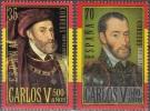 Espagne 2000 Michel 3530 - 3531 Neuf ** Cote (2008) 1.20 Euro Charles V Emission Avec La Belgique - 1931-Aujourd'hui: II. République - ....Juan Carlos I