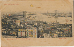 Hold To Light New York Brooklyn And Williamsburg Bridges Carte Transparente - Hold To Light