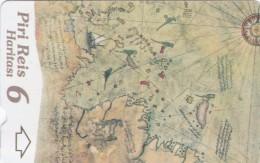 Turkey, N-325,  Piri Reis´ Map, Puzzle 6, 2 Scans. - Turquie