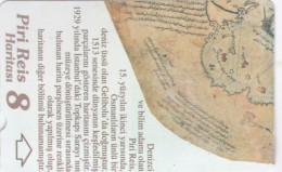 Turkey, N-327,  Piri Reis´ Map, Puzzle 8, 2 Scans. - Turquie