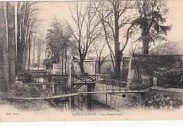 Cp , 77 , CRÉCY-en-BRIE , Les Ponts-Levis - France