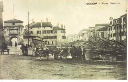 CHIOGGIA - Porta Garibaldi, Animata, Anni 10 - 2016-174 - Chioggia