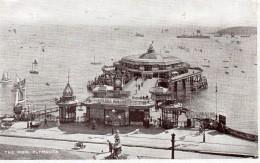 Postcard - Plymouth Promenade Pier, Devon. D - Plymouth