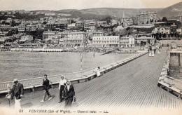 Postcard - Ventnor Pier, Isle Of Wight. 61 - Ventnor