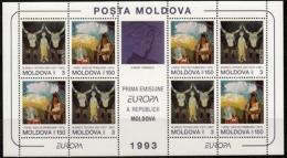 Moldawien MiNr. 94/5 ** Europa: Zeitgenössische Kunst - Moldawien (Moldau)
