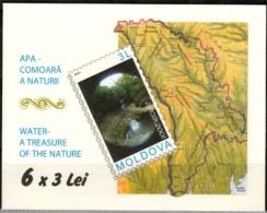 Moldawien MiNr. MH 4 ** Europa: Lebensspender Wasser - Moldawien (Moldau)