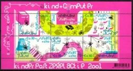 """Niederlande MiNr. Bl. 73 ** """"Voor Het Kind"""", Kind Und Computer - 1980-... (Beatrix)"""