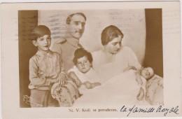 Carte Photo,SERBIE,1931,ROYAL FAMILY, Famille Royale,NJ. Kralj Sa Porodicom,enfants,enfant, Famille Nombreuse,rare - Serbie