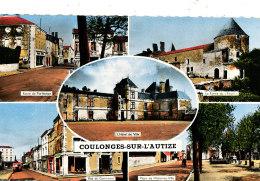AB 356 /  C P S M - COULONGES-SUR-L'AUTIZE   (79) MULTIVUES - Coulonges-sur-l'Autize