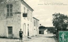 Environs De Fontenay Le Comte MERVENT Hotel Des Voyageurs Tenu Par Mme Normand - Francia