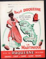 Protège Cahier Mam'zelle DUQUESNES (rhulm) Martinique (PPP3254) - Buvards, Protège-cahiers Illustrés