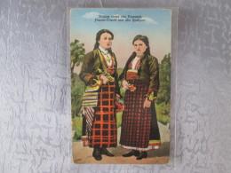 BULGARIE  OU ROUMANIE . FRAUEN TRACHT AUS DEN RODOPEN - Bulgarie