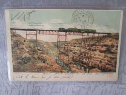 CANYON DIABLO ARIZONA . TRAIN ET PONT - Etats-Unis