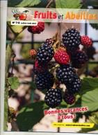 Revue Fruits Er Abeilles  Juillet 2012 Theme Pomme Abeille - Livres, BD, Revues