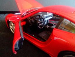 ORIGINAL Porsche 911/966 1:24 Detailed 1997 RARE VINTAGE LOW PRICE DIECAST METAL CAR - Burago