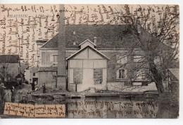 CPA.39.1917.Chaussin.Le Moulin.animée Personnages. - Francia