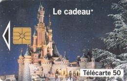 T153 - France, Phonecard, Euro Disney, 50 Units, Used, 2 Scans - Frankrijk
