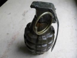 Grenade US MK II Ww2 Compléte Neutralisée - Armes Neutralisées