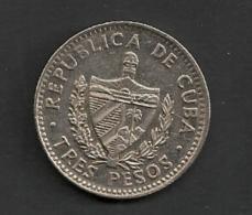 CUBA 3 Pesos 1995 Che Guevara - Cuba
