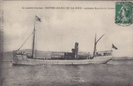 "OEUVRES DE MER : Navire Hôpital ""Notre Dame De La Mer"" - Peu Courant - Barcos"