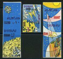DUBAI  ASTRONAUTIQUE :   Y&T  POSTE  N°  53/55  N D  TIMBRES  NEUFS  SANS  TRACE  DE  CHARNIERE , A  VOIR . - Timbres