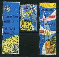 DUBAI  ASTRONAUTIQUE :   Y&T  POSTE  N°  53/55  TIMBRES  NEUFS  SANS  TRACE  DE  CHARNIERE , A  VOIR . - Timbres