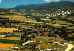N° 361 DID 3 EL CARTE GRAND FORMAT CRANVES SALES VUE GENERALE - Altri Comuni