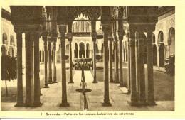 Espagne - Granada - Patio De Los Leones - Laberinto De Columnas - Heliotipio Artistica Española - Madrid - Nº 1 - 1075 - Granada