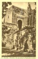 Espagne - Granada - Alhambra - Pilar De Carlos V Puerta Justicia - Heliotipio Artistica Española - Madrid - Nº 21- 1076 - Granada