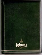 Loburg -Bière-Bier-Beer- Carnet Pour Tarif-Menu-Bière Blonde De Classe-dim. 22x17cm-très Bon état (scan) - Autres Collections